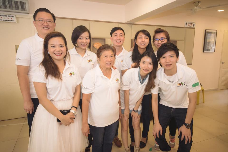 CSR Events | Parents Day | Angie Lim, Jacky Zhang YingJun, Sophia Wang, Dawn chen, Jiayi, Ian, Samanda, Wendy
